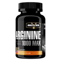 Arginine 1000 MAX 100 таблеток Maxler