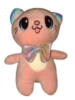 Мягкая игрушка Кошка розовая To-ma-to  22 см DL-06102-Rose